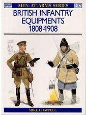 British Infantry Equipments 1808-1908,Mike Chappell  ,Osprey Pub Co ,