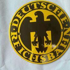 Schild Deutsche Reichsbahn Emaille