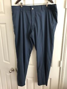 BLUE UNDER ARMOUR GOLF CASUAL PANTS MENS 42/30