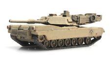 Desierto de Artitec 6160078 M1A1 Abrams tanque de fundición de N tren carga tema N 1: 160