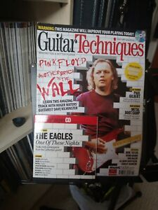 Guitar Techniques Magazine Jan 2009 160 gilmour pink Floyd the eagles Gilbert