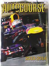 AUTOCOURSE 2013-2014 SEBASTIAN VETTEL RED BULL TONY DODGINS RACING CAR BOOK