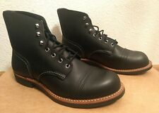 Red Wing Heritage 8084 Iron Ranger 10EE Black Harness Lug Sole. Brand New 1sts