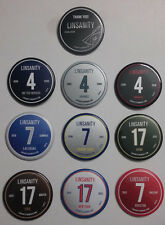 (10) Jeremy Lin 2013 Linsanity: The Movie Pin Button Complete Set Harvard RARE