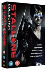 Stallone Collection Assassins Demolition Man Cobra Tango Cash Specialist R2 DVD