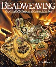 Bead weaving: New Needle Techniques & Original Designs Necklace Belt Ann Benson