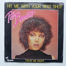 PAT NENATAR Hit me with your best shot PB 8654