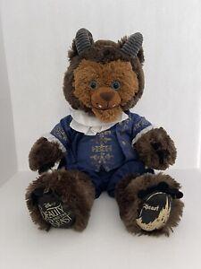 "Disney Build A Bear Beauty & the Beast ""Beast"" Doll Stuffed Animal Plush"