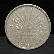 1898- Mo Mexico Silver Un Peso - K1     ENN COINS