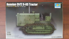 ChTZ S-65 RUSSIAN TRACTOR TRUMPETER 1/72 PLASTIC KIT