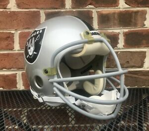 Vintage LESTER HAYES GLADIATOR ALL-AMERICAN RAIDERS FOOTBALL HELMET