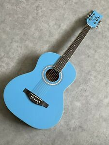 Childrens 3/4 Guitar Acoustic Daisy Rock 'Debutante Junior' in Candy Blue £119
