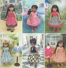 "18"" Girl DOLL Spring Dresses Simplicity 1220 American Sewing Pattern NEW"