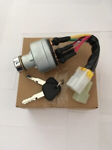 Fits Volvo Excavator Ignition Switch. See Description For Models.