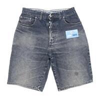 Next Mens Blue Denim Shorts Size W32/L10
