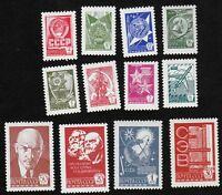 Russia USSR 1977 SC 4596-4607 MNH Litho . si1012