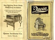 1905 Queen Baby Chick Hatchery Catalog Agriculture Poultry Incubator Women Farm
