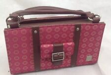 Miche Classic Brown Base Bag And Pink Shell With Pocket.  U1