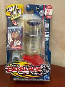 Out of Production Hasbro Beyblade Metal Fusion BB-37 Storm Aquario 100HF/S