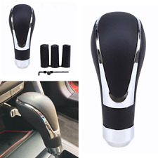 Universal Genuine Leather Manual Car Truck Shift Knob Gear Stick Shifter Lever