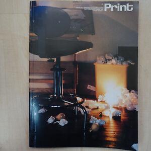 Print: America's Graphic Design Magazine, XXXIX:V September/October 1985