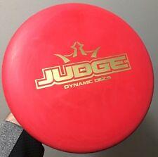 Bar Stamp Judge Classic Blend Red Dynamic Disc golf Putter westside latitude 64