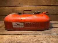 Vintage Johnson Outboard Boat Gas Tank Fuel 3 Gallon Motor Antique 6 John Jon