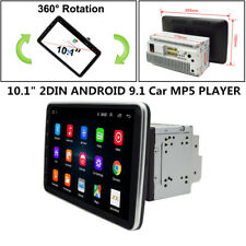 "10.1"" 360° Screen 2DIN Android 9.1 Car Universal Multimedia Radio GPS Navigation"