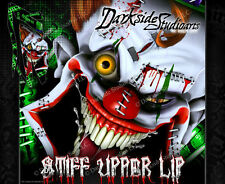 YAMAHA RAPTOR 700 2006-2012 WRAP DECAL GRAPHIC SET KIT 'STIFF UPPER LIP' 11 10
