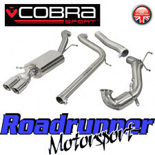 Cobra Sport Polo GTi 1.8 TSi Turbo Back Exhaust System Non Res & Sports Cat (6C)
