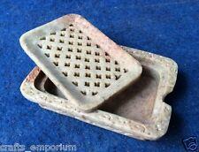 Marble Soap Stone Dish Tray Holder Bathroom Handmade Stone Gift Arts Decor