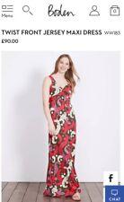 **REDUCED**2017 Petite Boden Twist Front Jersey Maxi Dress size 8 petite. BNWOT