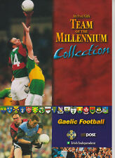 UMM MNH COLLECTION IRELAND EIRE TEAM OF THE MILLENNIUM FOLDER GAELIC FOOTBALL