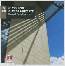 KLASSISCHE KLAVIERKONZERTE  5 CD MOZART/HAYDN/SCHUBERT/BACH/BEETHOVEN/+ NEU