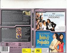 My Big Fat Greek Wedding-2002-Nia Vardalos/Bride and Prejudice-2004-Movie- 2 DVD