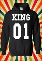 King Or Queen His And Hers Valentine Men Women Unisex Top Hoodie Sweatshirt 1530