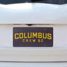 Columbus Crew SC Carbon Fiber License Plate - MLS