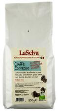 Bio Caffè espresso entkoffeiniert, ganze Bohnen, 500 g NEU & OVP von LaSelva