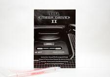 Manual / Mode d'Emploi Console SEGA Mega Drive II (MD) - Mint / Comme Neuf