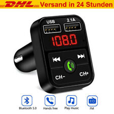 Bluetooth FM Transmitter Auto MP3 Player DUAL USB KFZ SD AUX Freisprechanlage