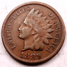1889 Indian Head Penny Cent ~ VF/XF ~ #4928