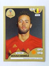 Panini World Cup 2018 Mousa Dembele Tottenham Hotspur & Belgium Gold Sticker
