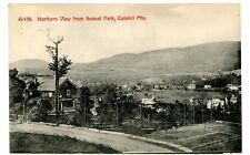 Haines Falls NY - NORTHERN VIEW FROM SUNSET PARK - Postcard Catskills