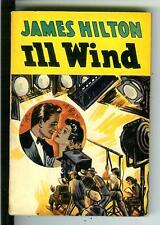 ILL WIND by Hilton, rare US Avon no #4, crime pulp vintage pb GLOBE endpapers