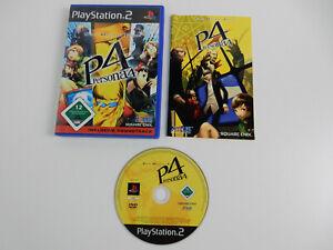 Persona 4  für PS2 - PAL - Playstation 2 + Beschreibung in OVP !