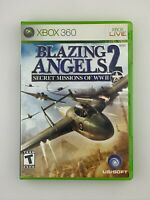 Blazing Angels 2: Secret Missions of WWII - Xbox 360 Game - Tested