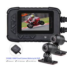 "Dual 1080P Lens Hd Dv688 Gps Motorcycle Camera G-Sensor Video Night Vision 2.4"""