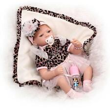 Very Soft Vinyl Real Life Like Reborn Baby Doll Silicone Newborn Dolls 22 Inches