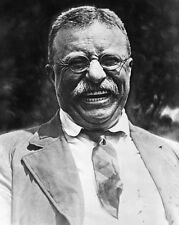 New 8x10 Photo: A Laughing President Theodore - Teddy - Roosevelt