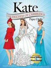 Kate: The Duchess of Cambridge Paper Dolls (Paperback or Softback)
